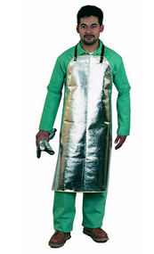 Steel Grip RL125-39 Aluminized Rayon Bib Apron. Shop now!