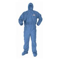 Kimberly Clark A60 Bloodborne Pathogen Protection Coveralls - 20+/ Case