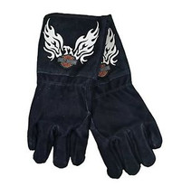 Harley Davidson Flaming Eagle Welders Glove. Shop now!