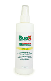 BugX 8 Oz DEET Free Insect Repellent Pump Spray Bottle. Shop now!