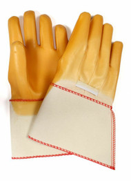 NSA Latex Coated Cotton Glove with Extended Gauntlet Cuff. Shop Now!
