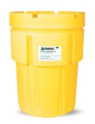 Enpac 1065-YE 65 Gal Salvage Drum Poly Overpack