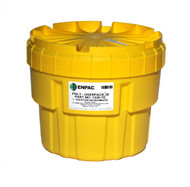 Enpac 1220-YE 20 Gallon Poly Overpack Salvage Drum. Shop Now!