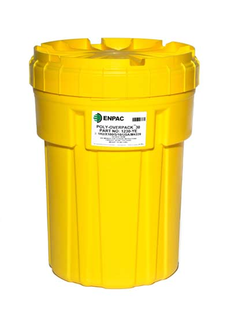 CEP OP30-1230-YE 30 Gallon Poly Overpack Salvage Drum. Shop now!