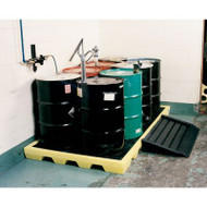 CEP 5115-YE 6 Drum Workstation Spill Pallets. Shop now!