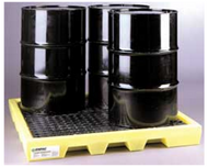 CEP 5116-YE 4 Drum Workstation Spill Pallets. Shop now!