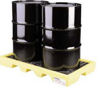 CEP 5117-YE 2 Drum Workstation Spill Pallets. Shop now!