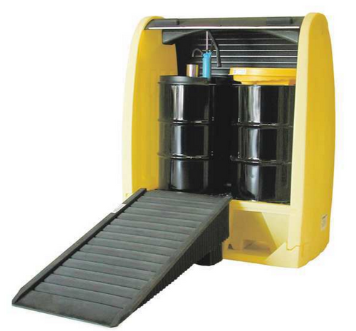 CEP 4062-YE 2 Drum Hardcover Spill Pallets. Shop now!