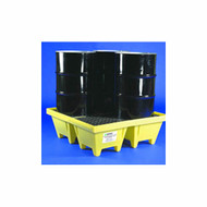CEP 5001-YE-D 4 Drum Poly Spill Pallet 6000 w/ Drain. Shop now!