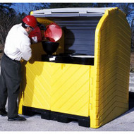 UltraTech 9637 Ultra Hard Top P4 Plus Drum Containment w/ Drain. Shop now!