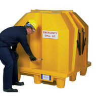 UltraTech 1081 4 Drum Ultra Hard Top P4 Outdoor Containment Storage W/ Drain. Shop now!