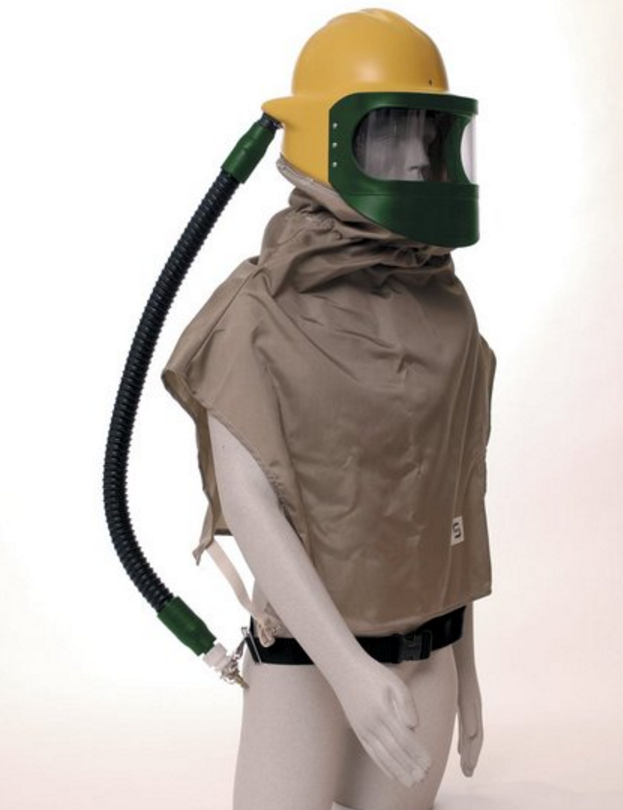 Bullard 88VX3230 Respirator Assembly with Nylon Cape