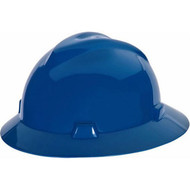 MSA 454732 HAT, V-GARD, STAZ-ON, BLUE