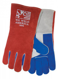 "Tillman 1075 ""We Weld America"" Premium Grade Welders Gloves. Shop Now!"