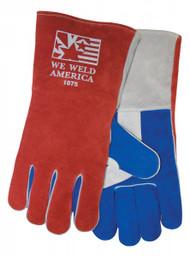 """Tillman 1075 """"We Weld America"""" Premium Grade Welders Gloves. Shop Now!"""