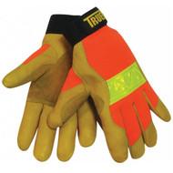 Tillman 1476 Top Grain Cowhide  TrueFit Hi-Vis Cowhide Work Gloves. Shop Now!