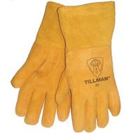 Tillman 35 Top Grain Deerskin Foam Lined Thumb Strap MIG Welding Gloves. Shop Now!