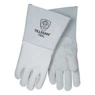 Tillman 750 Top Grain Elkskin Welders' Gloves With Stiff Cowhide Thumb. Shop Now!