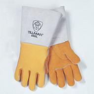 Tillman 850 Top Grain Elk Lined Welders Gloves With Straight Thumb. Shop Now!