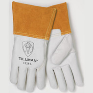 Tillman 1328-L Goatskin Standard Grade TIG Welders Gloves With Wing Thumb. Shop Now!