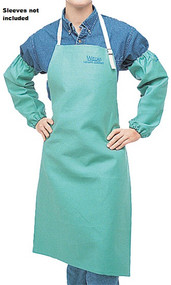 Weldas 33-7036 9 oz Cotton FR Green Bib Apron. Shop now!