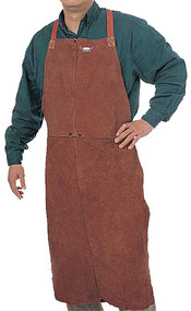 Weldas Leather Bib Apron SteerOTuff. Shop now!