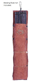 Weldas 44-7110 STEERSOtuff 5 lb. Capacity Premium Leather Rod Bag. Shop now!