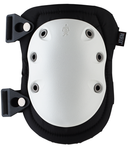 Ergodyne ProFlex 315 Long Textured White Cap Kneepad. Shop now!