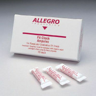Allegro 0201 Respirator Fit-Check Ampoules, Banana Oil (10/Box) - 5 Boxes
