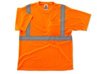 Ergodyne 8289 GloWear Class 2 Economy T Shirts Front view as Shown in Orange. Shop now!