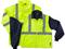 Ergodyne 8385 GloWear Class 3 Four in One Jacket in Lime. Shop now!