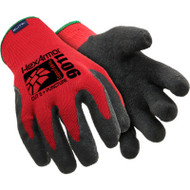 HexArmor 9011 9000 Series Red Black SuperFabric L5 Cut Resistant Gloves. Shop now!