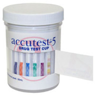 Accutest 5 Panel Urine Drug Test Cup with Adulteration Detection. Shop Now!