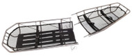 Junkin Safety MIL-0452 Break-Apart Basket Stretcher Military Type III S.S. with Leg Divider. Shop Now!