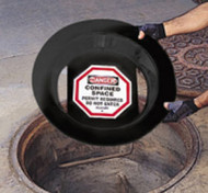"Allegro 9400-26 Manhole Sign 26"". Shop now!"