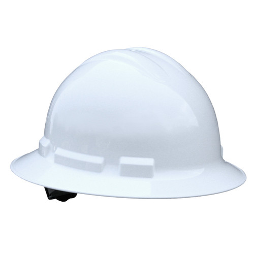 Radians QHP4 Quartz Full Brim Hardhat with 4 Pt Suspension available in White. Shop now!