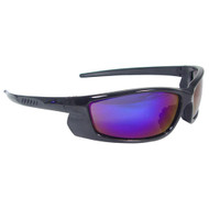 Radians Voltage Safety Eyewear (Electric Blue Lens, Black Frame
