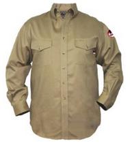 Walls FR 56390 Khaki Flame Resistant Button Down Work Shirt. Shop now!