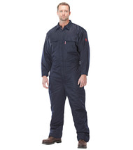 Benchmark 6024FR Navy Insulated Coverall. Shop now!