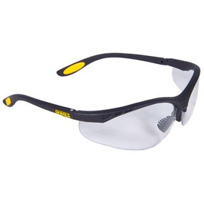 DeWalt DPG58 Reinforcer Safety Glass (Clear Lens). Shop now!