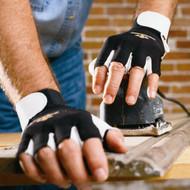 Impacto BG401 Pearl Leather Palm Anti-Vibration Air Glove Half Finger. Shop Now!