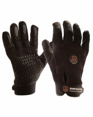 Impacto BG408 Anti-Vibration Mechanic's Air Glove Black. Shop Now!