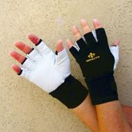 Impacto BG471-01 Half finger Anti Vibration Air Gloves w/ Wrist Support. Shop Now!
