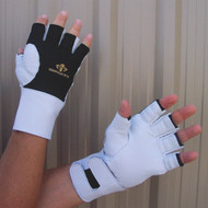 Impacto BG475-30 Anti Vibration Air Glove Half Finger with Thumb Web. Shop Now!