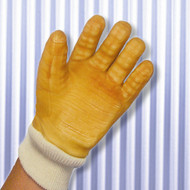 Impacto BG630 Rubber Anti Vibration Full Finger Knit Cuff Air Gloves