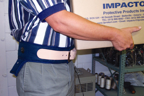 Impacto Dual Advantage Air Belt with Cambrelle Outer Cover.  Shop Now!