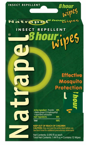 Natrapel 8 Hour Insect Repellent Wipes. Shop now!