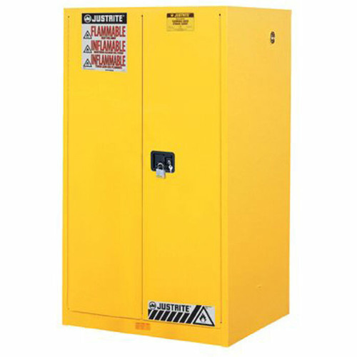 Justrite 896000 Yellow 60 Gal Sure Grip Ex Flammable