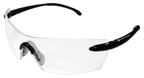 23006 Clear Anti-Fog Lens, Black Frame