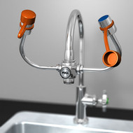 Guardian G1100 EyeSafe Faucet Mounted Eyewashes